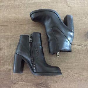 All Saints Black Ankle Boots, Size 6